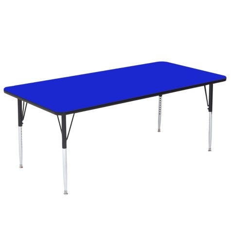"""Correll 72"""" x 36"""" Rectangle Activity Table, Select Color"""