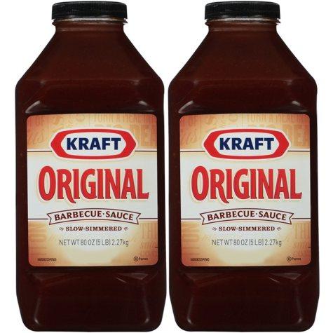 Kraft Original BBQ Sauce - 80 oz. - 2 pk.