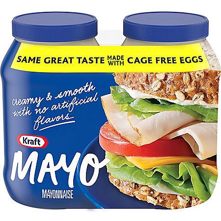 Kraft Mayo (30 oz., 2 pk.)