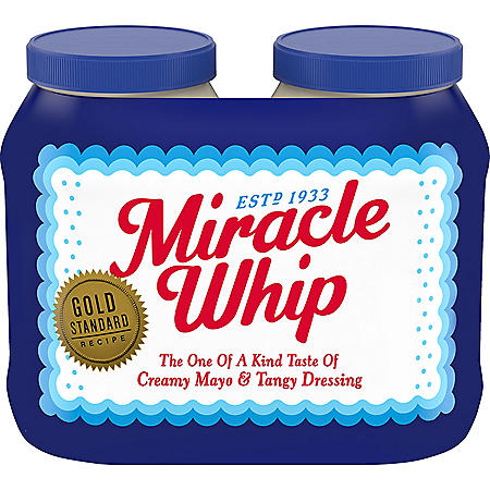 Miracle Whip Dressing (30 oz. Bottles, 2 ct.)