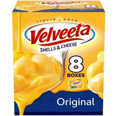 Velveeta Shells and Cheese, Original (12 oz,. 8 pk.)