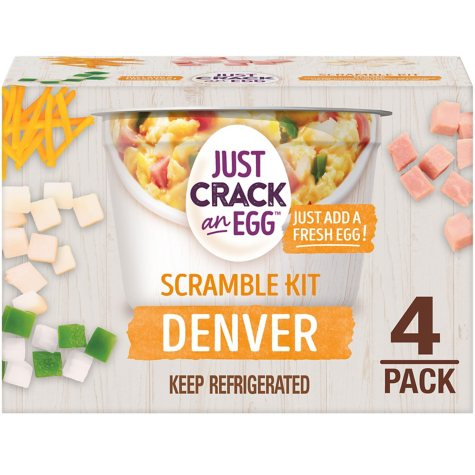 Ore-Ida Just Crack an Egg Denver Scramble Kit (3 oz. cups, 4 pk.)