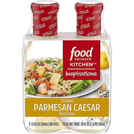 Food Network Kitchen Inspirations Creamy Parmesan Caesar Dressing (12 oz., 2 pk.)