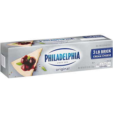 Kraft Philadelphia Cream Cheese (48 oz. loaf)