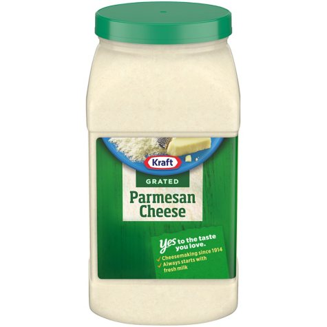 Kraft 100% Grated Parmesan Cheese (4.5 lbs.)
