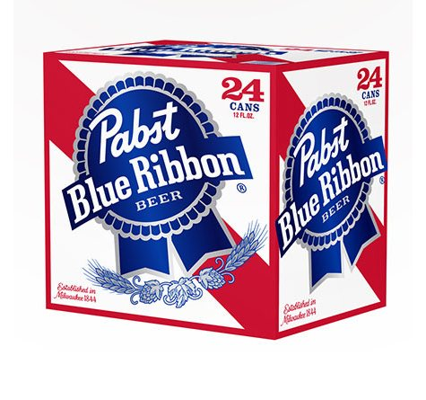 PABST BLUE RIBBON 24 / 12 OZ CANS