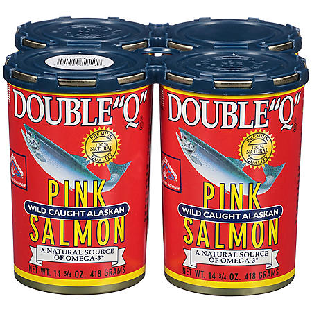 """Double """"Q"""" Pink Salmon"""
