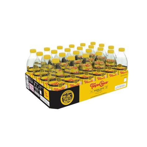 Topo Chico Mineral water - 20 oz. - 24 pk.