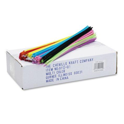 Chenille Kraft® Regular 12 x4mm Stems - 1000/Pk