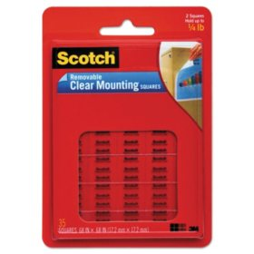3M Scotch Removable Mounting Squares