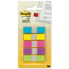 Post-it - Flags in Portable Dispenser - 5 Bright Colors - 5 Dispensers of 20 Flags per Color