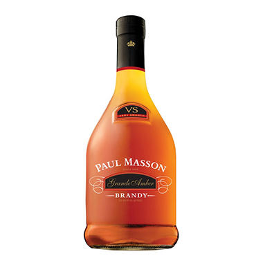 +PAUL MASSON BRANDY GRANDE AMBER 750ML