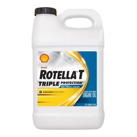 Rotella T 15W40 Heavy Duty Motor Oil (2-pack / 2.5 gallon bottles)