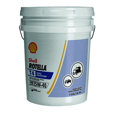 Rotella T4 Triple Protection 15W40 (5 gallon pail)