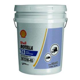 Rotella T4 Triple Protection 15W40 (5 gallon pail)