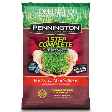 Pennington 1 Step Complete Tall Fescue - 18 lb.