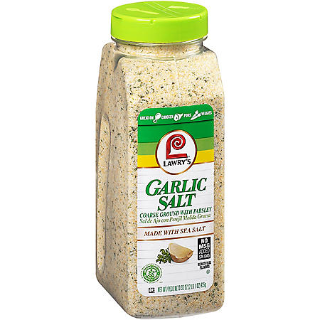 Lawry's Coarse Ground Garlic Salt with Parsley (33 oz.)