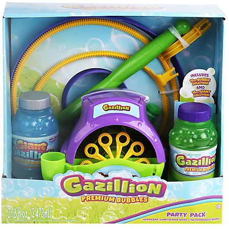 Gazillion Premium Bubbles Party Pack
