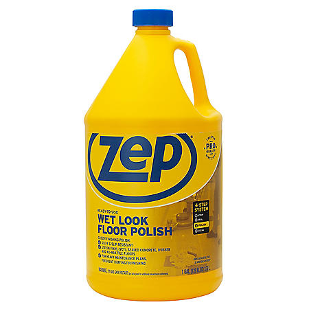 Zep Commercial Wet Look Floor Polish (1 gal.)