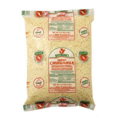 Supremo® Chihuahua® Shredded Cheese - 5lb