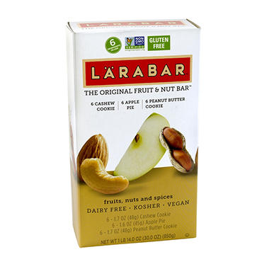 LARABAR Fruit and Nut Bars, Variety Pack (18 ct.)