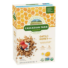 Cascadian Farm Organic Oats & Honey Granola (48.5 oz.)