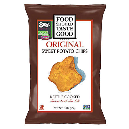 Food Should Taste Good Sweet Potato Kettle Chips (15 oz.)