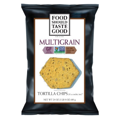 All Natural Tortilla Chips Multi Grain - 24 oz.