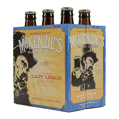 McKenzie's Lazy Lemon Hard Cider (12 fl. oz. bottle, 6 pk.)