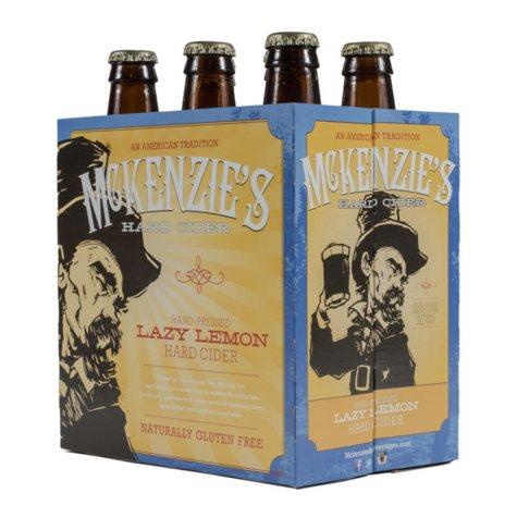 McKenzie's Lazy Lemon Hard Cider (12 fl. oz. bottle, 6 pk.)