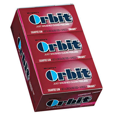 Wrigley's Orbit Cinnamint - 14 pc. pks. - 12 ct.