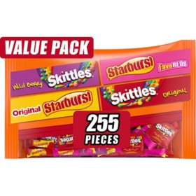 Skittles and Starburst Candy Bag (6.53 lbs., 255 ct.)