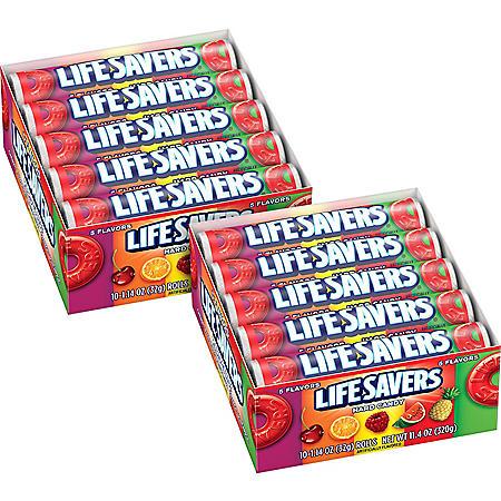 Lifesavers Hard Candy (1.14 oz., 20 ct.)