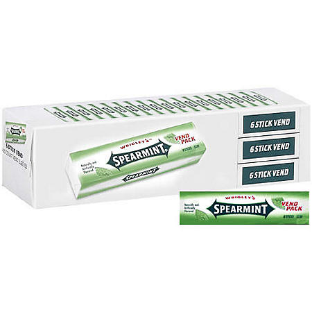 Wrigley's™ Spearmint® Vend Pack - 3/20ct