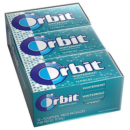 Orbit Gum Wintermint (14 ct., 12 pks.)