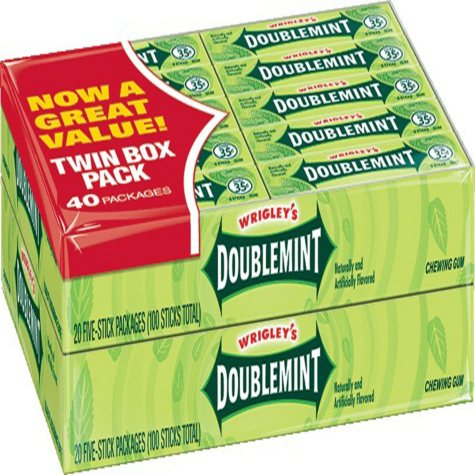 Wrigley's Doublemint Gum (5 ct., 40 pks.)