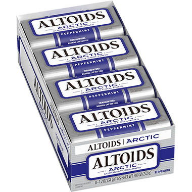 Altoids Arctic Peppermint Sugar-free Mints (8 pk.)
