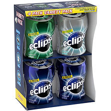 Eclipse Bottle Variety Pack  Gum - 4 bottles
