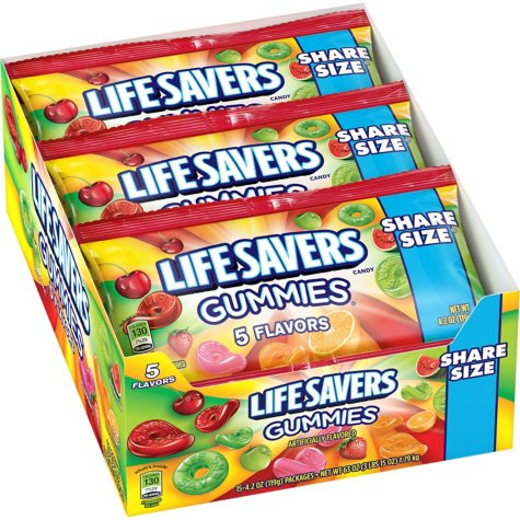 Lifesavers Gummies (4.2 oz., 15 pks.)