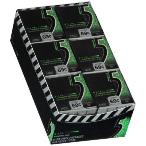 Wrigley's 5 Rain Gum Micro Pack - 24 ct.