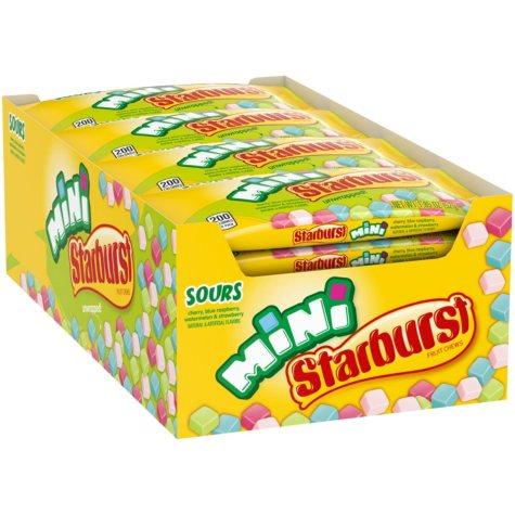 Starburst Minis Sours Fruit Chews (1.85 oz., 24 ct.)