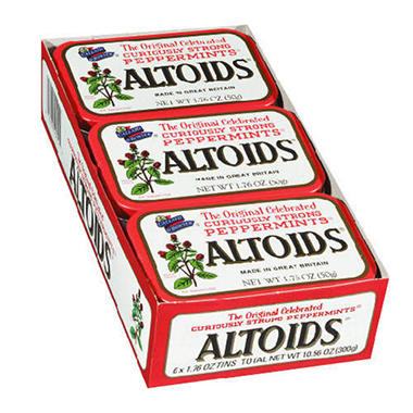 Altoids Peppermint Mints (1.76 oz., 6 pks.)