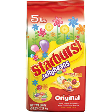 Starburst Jellybeans, Original and Crazy Beans (5 lbs.)
