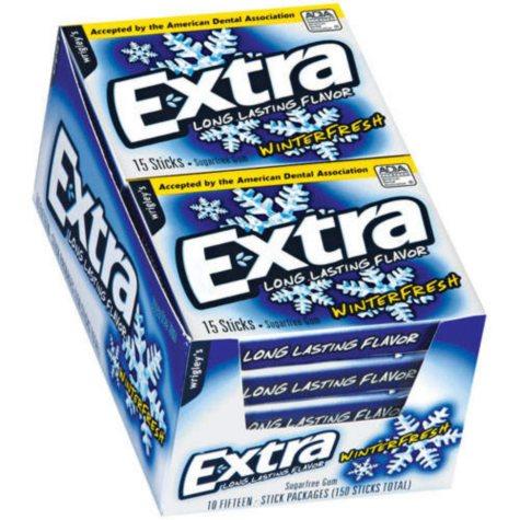 Extra Winterfresh Sugar-free Gum (10 pk.)