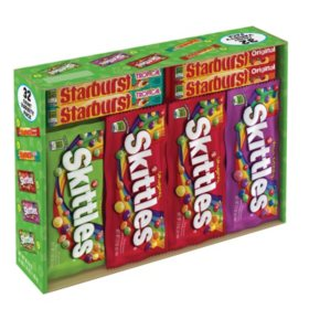Skittles & Starburst Variety Box (4.17 lbs., 32 ct.)