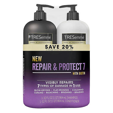TRESemme Repair & Protect 7 Shampoo & Conditioner (32 fl ...