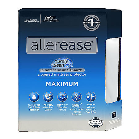 AllerEase Bed Bug and Allergy-Proof Mattress Protector