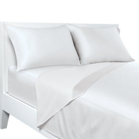 Sealy Posturepedic Temperature-Balancing Pillowcases, Set of 2 (Assorted Sizes and Colors)