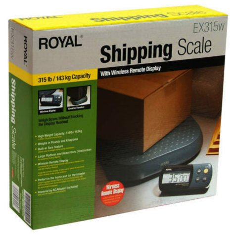 Royal® Shipping Scale - 315 lb. capacity
