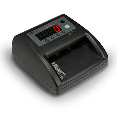 Automatic Electronic Counterfeit Bill Detector with Built in LCD Display